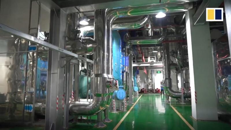 Hệ thống điều hòa lớn cung cấp 400.000 tấn lạnh