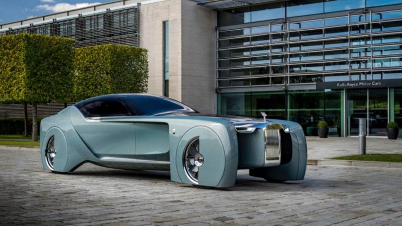 Trải nghiệm xe điện tự lái siêu sang Rolls-Royce thế hệ tương lai 2035