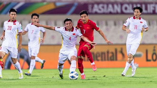 Thủng lưới phút 90+5, ĐT Việt Nam mất điểm trước Trung Quốc