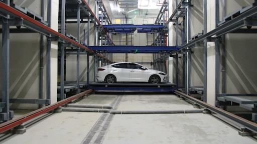 Hệ thống đỗ xe thông minh nhiều tầng
