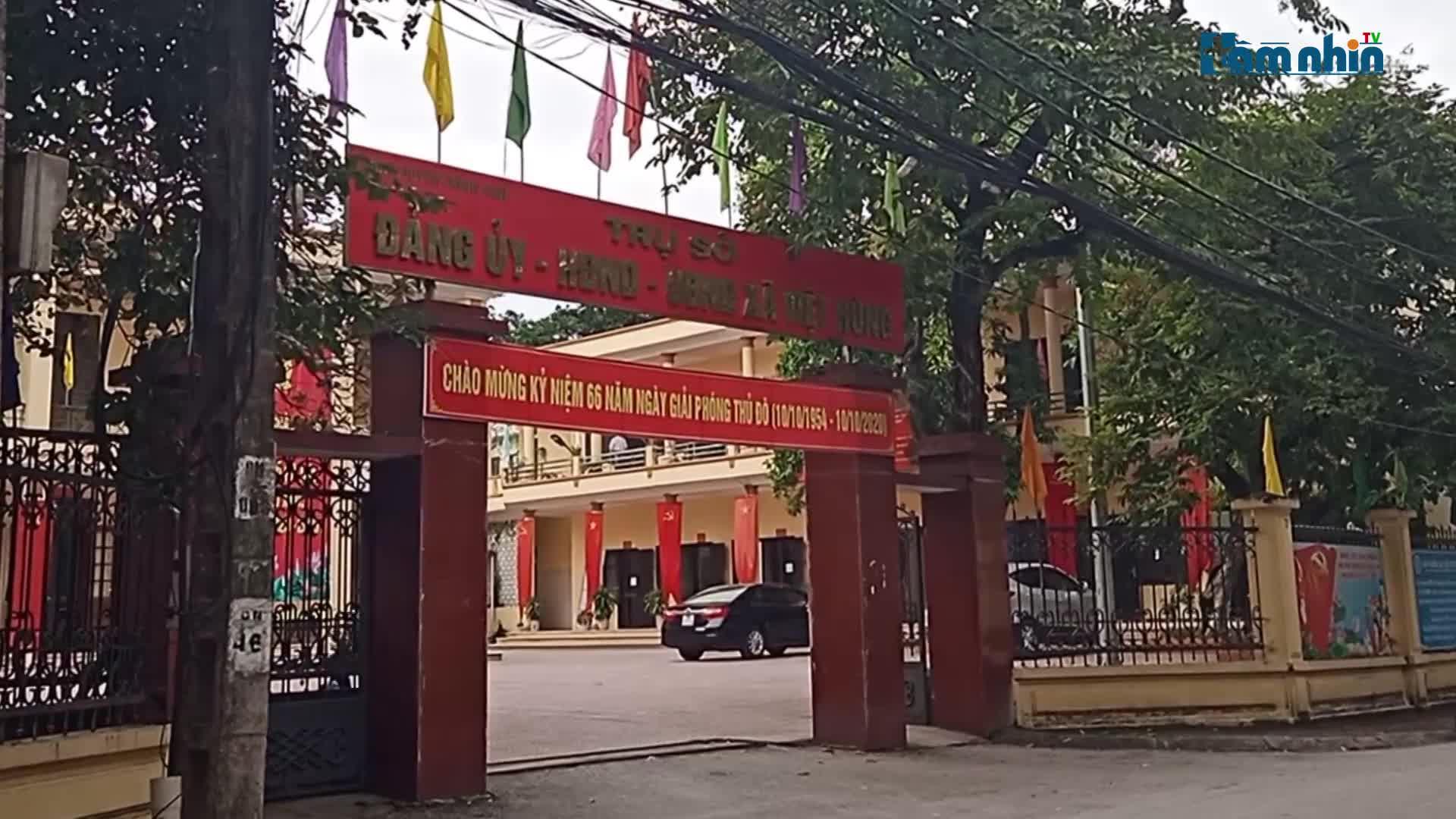 Đông Anh, Hà Nội: UBND xã Việt Hùng khắc phục xử lý ngay tình trạng đổ thải sau phản ánh của báo chí