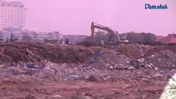 Hoài Đức - Hà Nội: Đất dự án của Vietracimex biến thành nơi đổ phế thải?