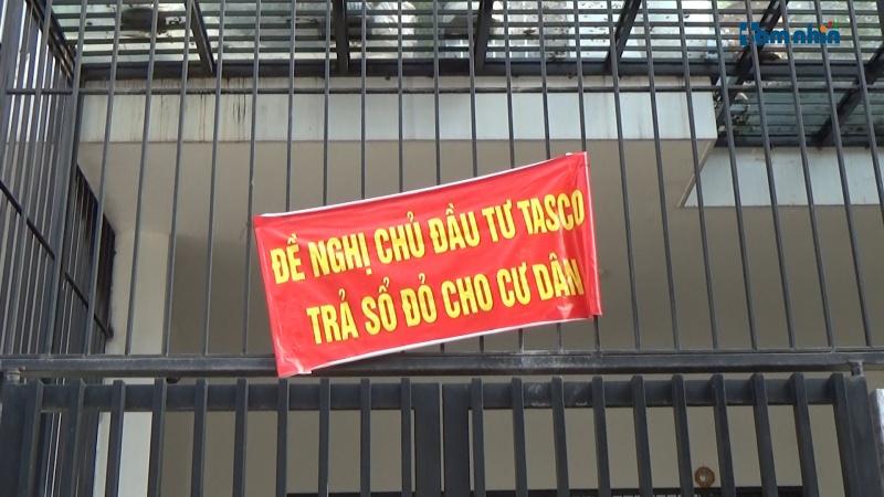 Dự án BT Tasco Xuân Phương đến lượt người mua nhà đòi sổ đỏ