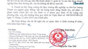 """Hà Nội: Sau chỉ đạo """"nóng"""" của Bộ trưởng GTVT, tình trạng xe tải chở VLXD quá khổ quá tải vẫn tiếp diễn"""