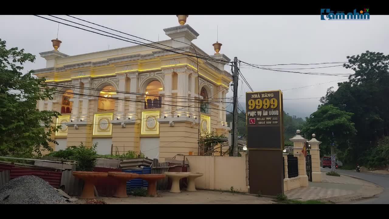 """Bát Xát - Lào Cai: Có ưu ái """"đặc biệt"""" cho công trình vi phạm khủng?"""