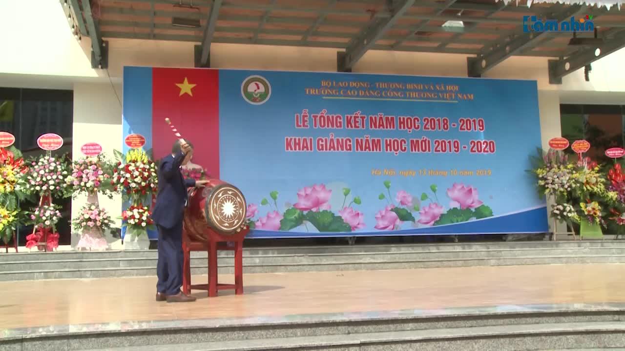 Trường CĐ Công thương Việt Nam tổng kết năm học 2018-2019 và khai giảng năm học mới 2019-2020