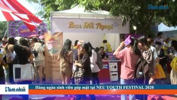 Hàng ngàn sinh viên góp mặt tại NEU YOUTH FESTIVAL 2020