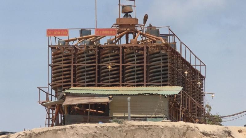 Bình Thuận: Khó khăn từ các nhà đầu tư khai thác, chế biến sâu titan đang đối mặt